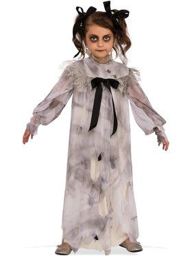 Halloween Zombie Costumes For Girls.Girls Sweet Screams Costume