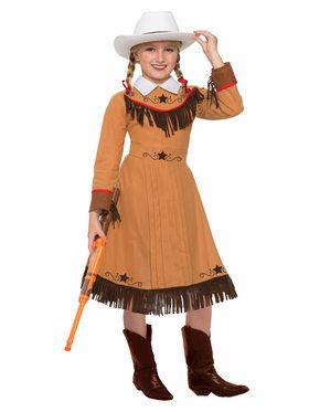 Girls Texas Rosie Costume