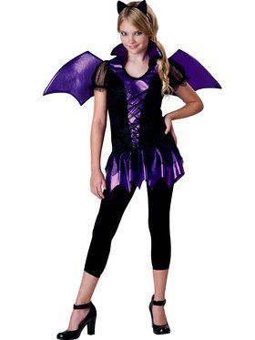 Girls Tween Bat Reputation Costume