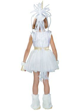 Girls Unicorn Child Costume
