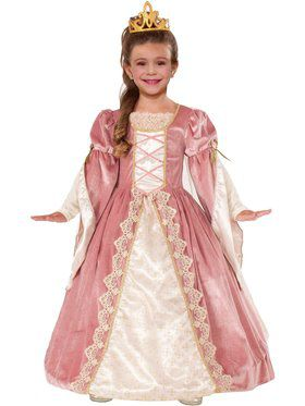 Girls Victorian Rose Costume