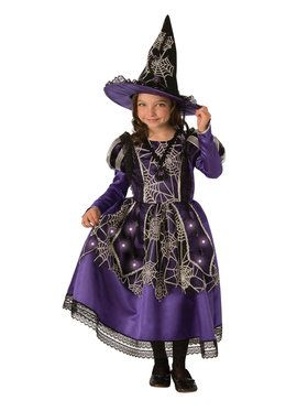 Kids Victorian Spider Witch Costume
