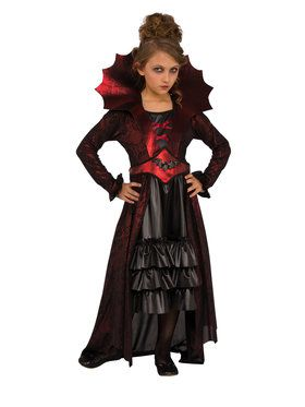 Girls Victorian Vampire Costume
