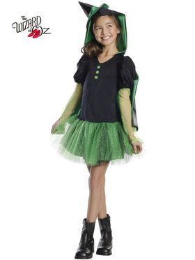 Wicked Witch Of The West Tutu Costume For Girls