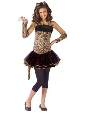 Wild Cat Costume for Girls