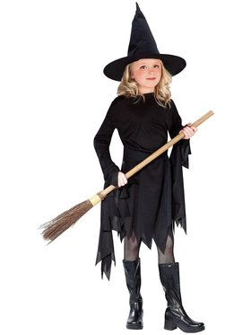 Girls Witchy Witch Costume