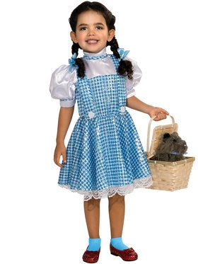 Sequin Wizard of Oz Dorothy Girl Costume