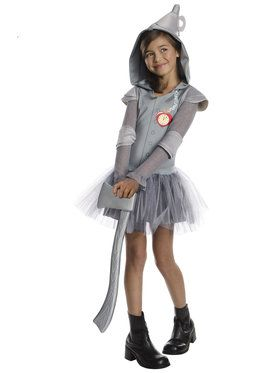 Girls Wizard Of Oz Tin Man Tutu Costume