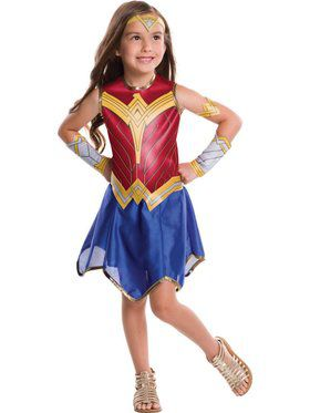 Wonder Woman Girl's Costume