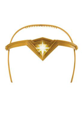 Light Up Wonder Woman Tiara For Girls