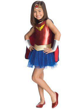Wonder Woman Tutu Girls Costume