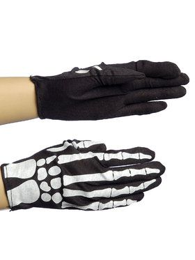 Gloves - Skeleton - Adult