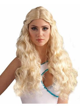 Goddess Wig - Blonde Adult