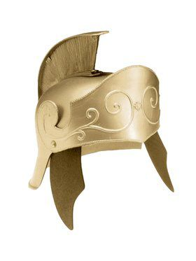 Adult Gold Roman Helmet