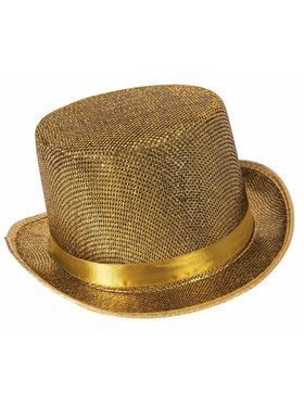 Men's Golden Top Hat