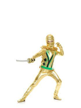 Golden Ninja Avenger Series Iii Iii Child Costume