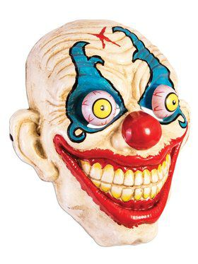 Smiling Clown Google Eyes 2018 Halloween Masks