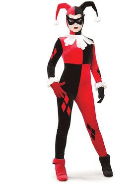 DC Gotham Girls Adult Harley Quinn Costume