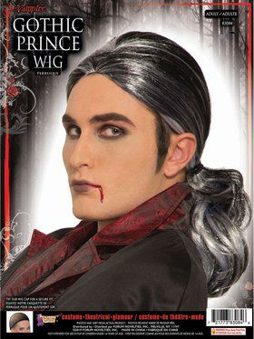 Gothic Prince Male Wig