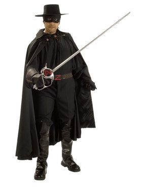 Grand Heritage Adult Zorro Costume