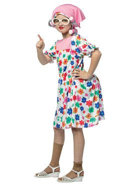 Granny Costume For Kids