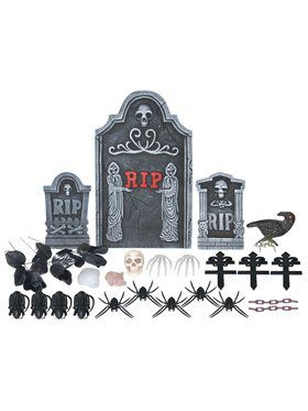 Graveyard Kit - 20 pieces