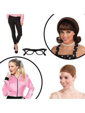 Grease Women's Adult Costume Kit