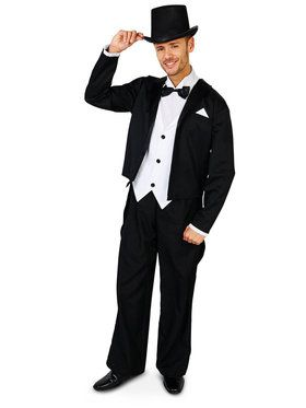 Great Gatsby 1920s Tuxedo Adult Costume
