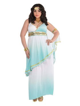 Grecian Goddess Women's Plus Costume