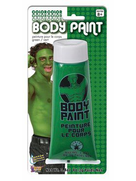 Body Paint - Green