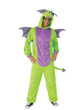 Green Dragon Comfy Wear Adult Costume
