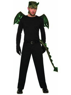 Black Dragon Men's Costume