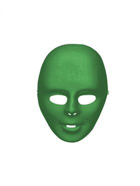 Green Full Face Mask