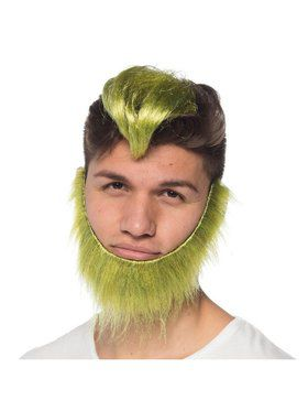 Green Guy Wig and Beard