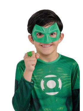 Green Lantern - Child Light-Up Ring