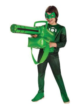 Inflatable Green Lantern Gatling Gun