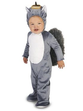 Grey Squirrel Infant Costume
