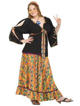 Groovy Mama Costume Adult Plus