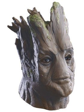 Adult Deluxe Groot Overhead Latex Mask