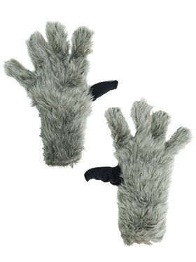 Guardians Of The Galaxy Brown Rocket Raccoon Boys Gloves