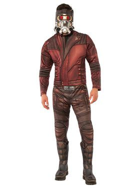 Guardians of the Galaxy Vol. 2 - Star-Lord Deluxe Adult Costume Standard