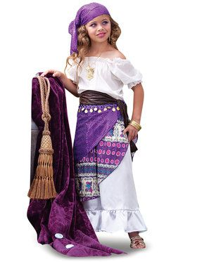 Gypsy Child Costume Small (4-6)