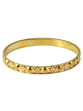Gypsy Thin Gold Bracelet