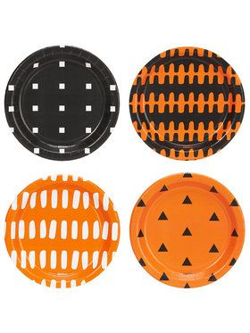 Halloween Assorted Appetizer Plates (32)