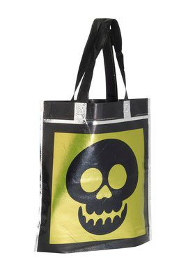 Halloween Metallic Treat Bags - 3 Assorted Styles