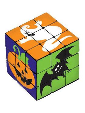 Halloween Plastic Puzzle Cube (6 Count)
