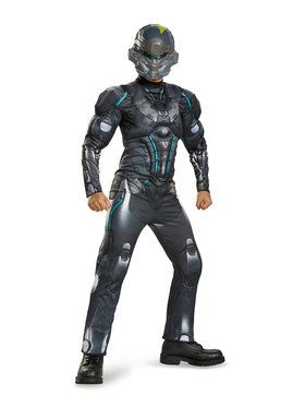 Halo Spartan Locke Muscle Classic Boys Costume