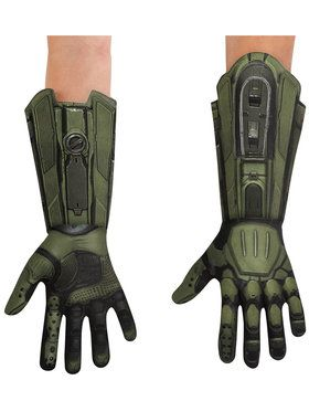 Deluxe Kids Master Chief Halo Gloves
