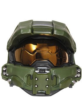 Halo Master Chief Adult Light-Up Deluxe Helmet One-Size