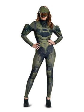 Adult Womens Deluxe Master Chief Halo Costume